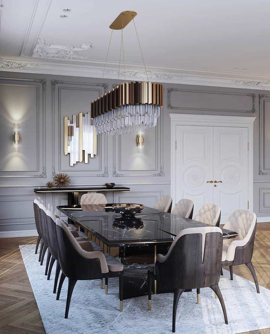 Dining Room Decoration: Dining Room Trends 2019: Dos And Don'ts For A Spectacular