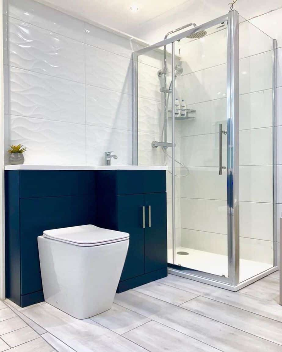bathroom design trends 2020 blue