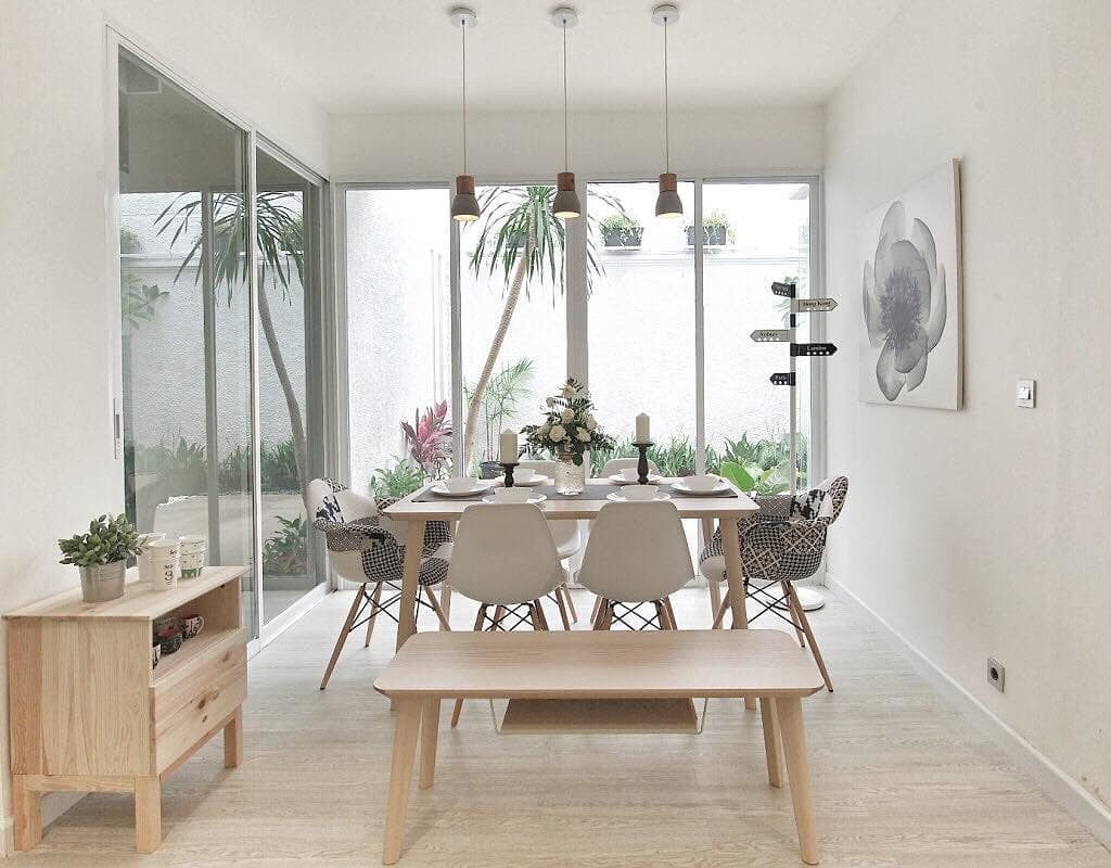 dining room design ideas 2020 Scandinavian