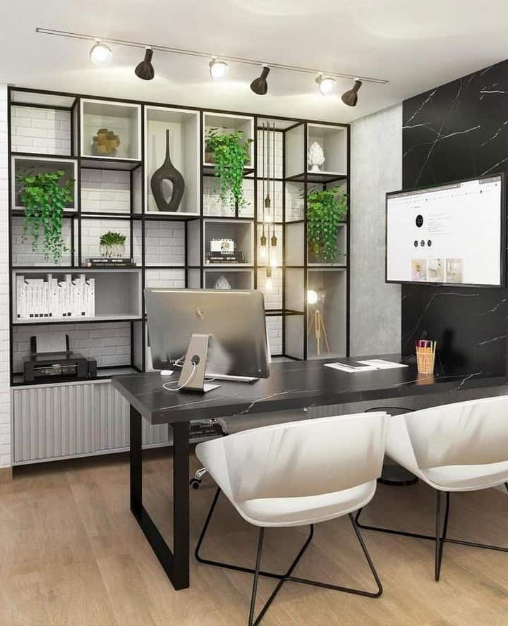 Home Design Color Ideas: Best Colors And Styles Of Home Office 2020 (Images And Videos