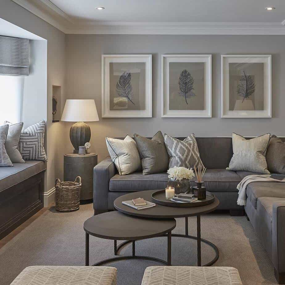 5 Living Rooms That Demonstrate Stylish Modern Design Trends: Top 6 Interior Color Trends 2020: The Most Popular Paint