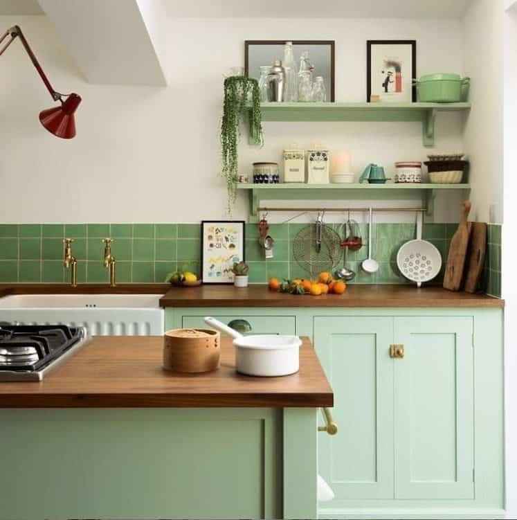 Small kitchen ideas 2022 to pay attention to tetris mode