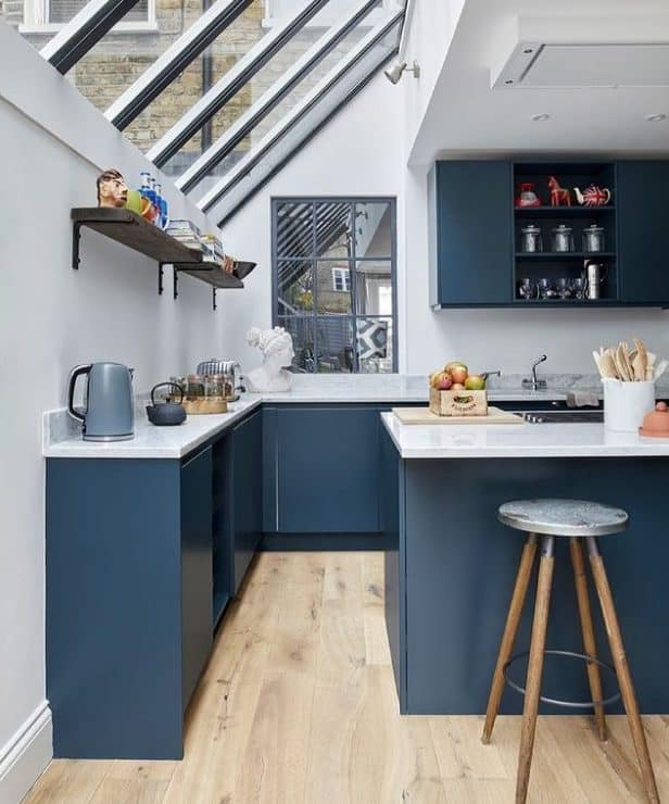 Modular kitchen as the best choice for small kitchen design 2022