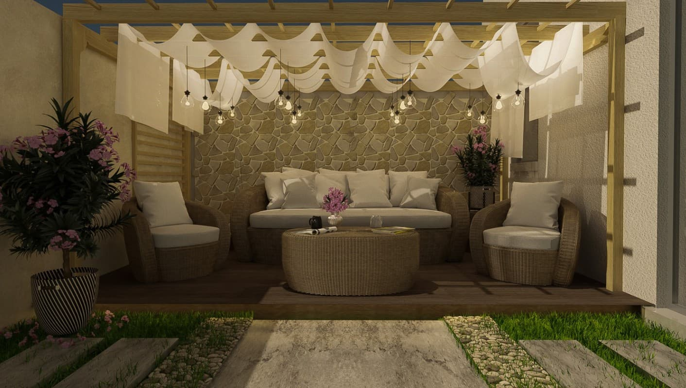outdoor decor trends 2022